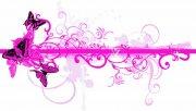 粉紅色花紋設計
