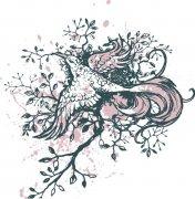 鸟儿花纹设计