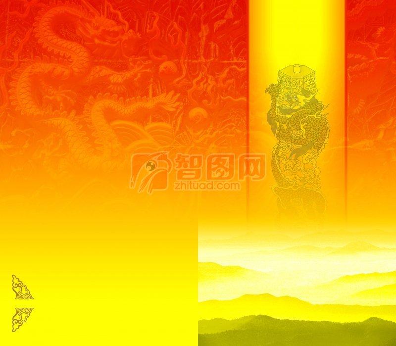 中国风情画册宣传
