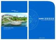 招商项目册画册版式设计