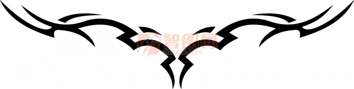 部落花纹元素11
