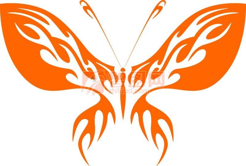 说明:-蝴蝶设计 上一张图片:  纹身花纹元素03 下一张图片:蝴蝶