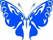 蓝色蝴蝶素材