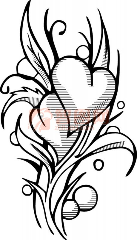 【ai】纹身花纹09
