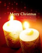 烛光中的圣诞节