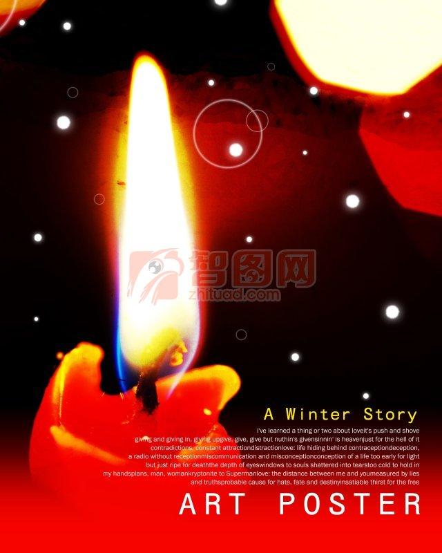 烛光中的圣诞故事
