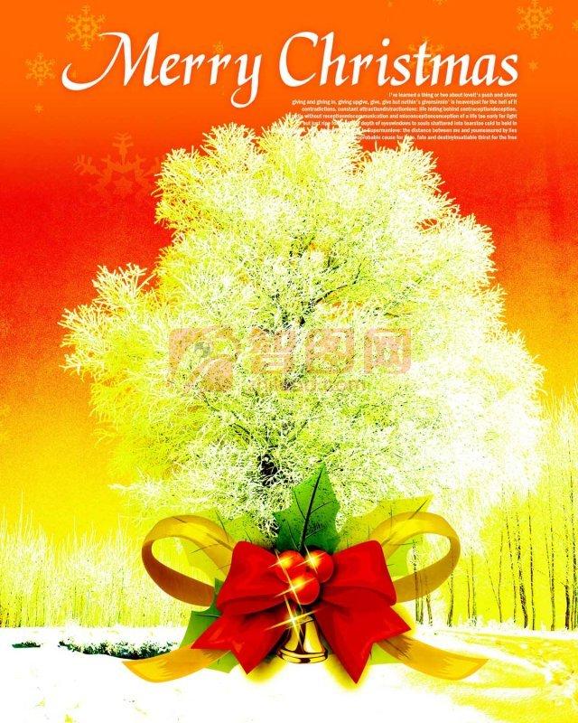 圣诞树上的祝福