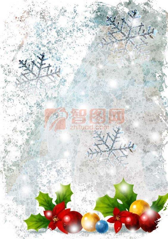 圣誕夜的雪花