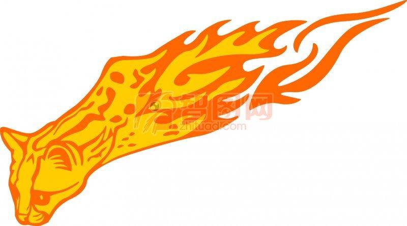 说明:-黄色豹子花纹 上一张图片:   狼花纹元素 下一张图片:老虎花纹