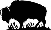 黑牛花纹元素
