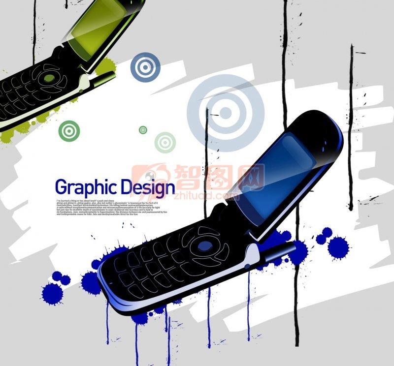 手機花紋設計