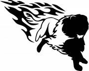 狮子花纹设计