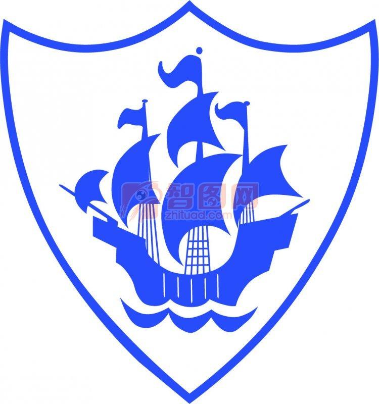 美国队长盾牌壁纸蓝色