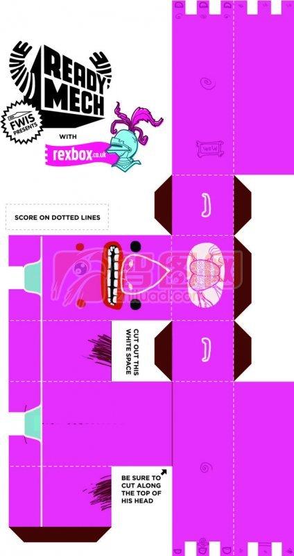 粉红色包装设计
