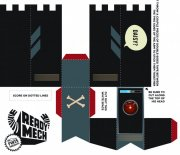 黑色包装盒设计