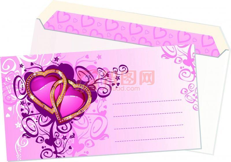 浪漫信纸底纹