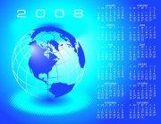 蓝色地球日历