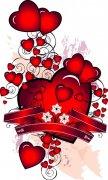 心组成的花纹