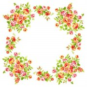 小碎花装饰
