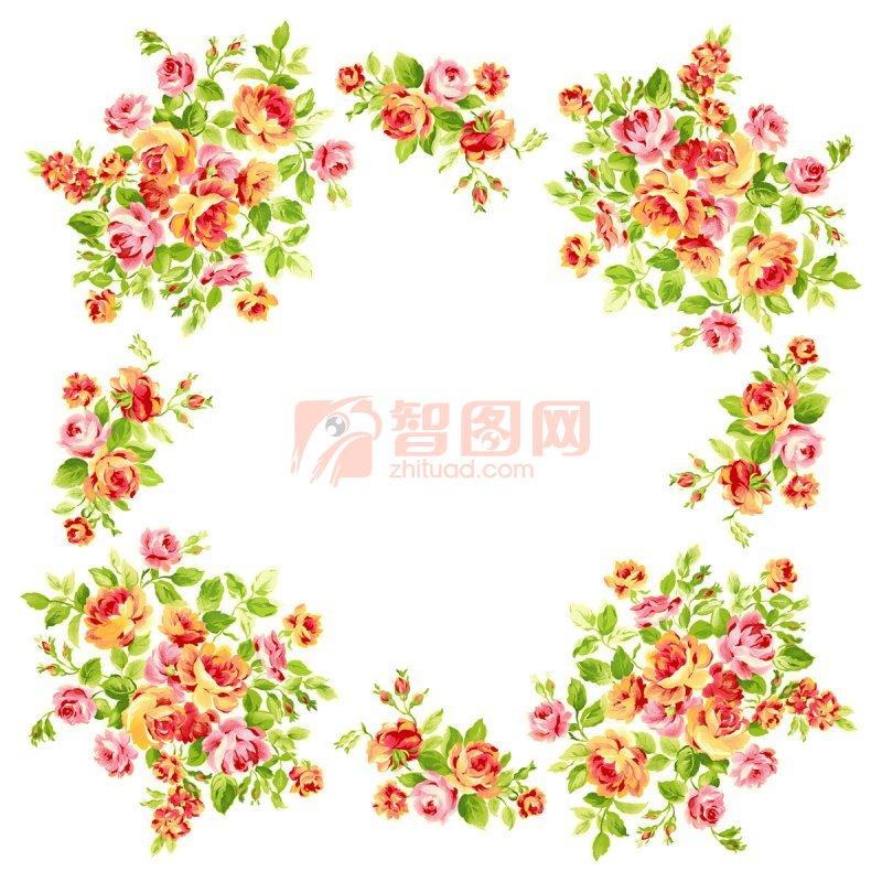 Psd】小碎花装饰 图片编号:201102150850440550 智图网 www
