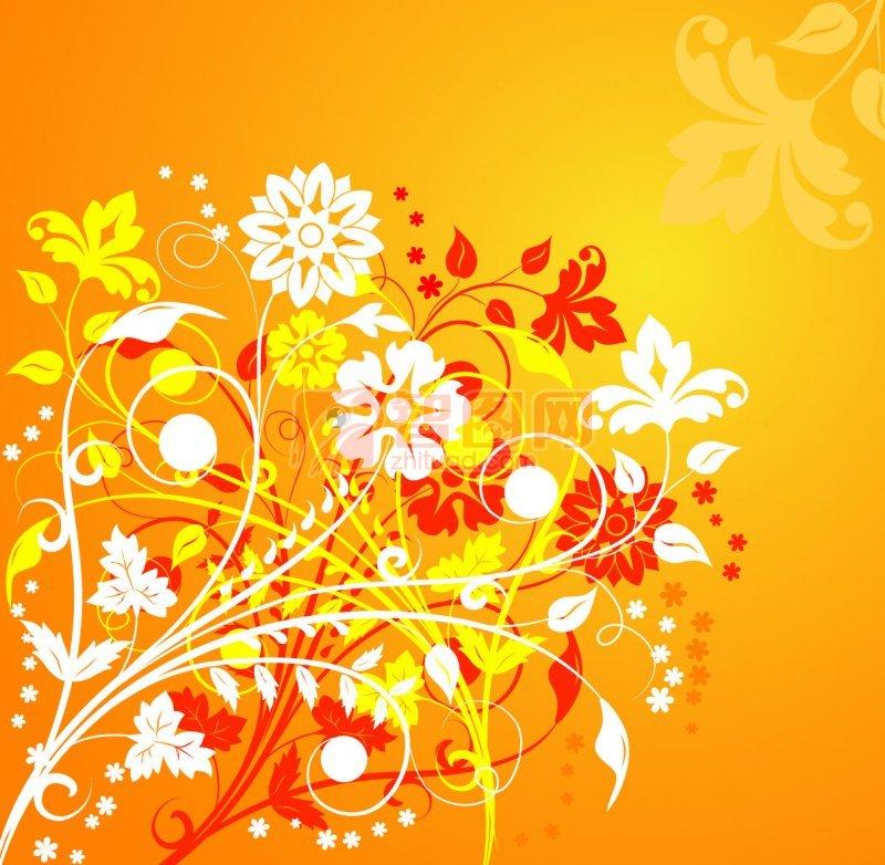 花紋花邊底紋素材