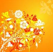 花纹花边底纹素材