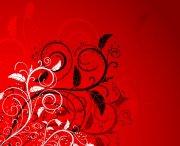 璀璨花紋背景矢量素材