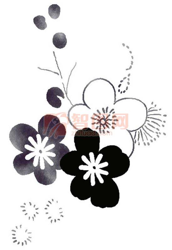 空间黑白图片素材