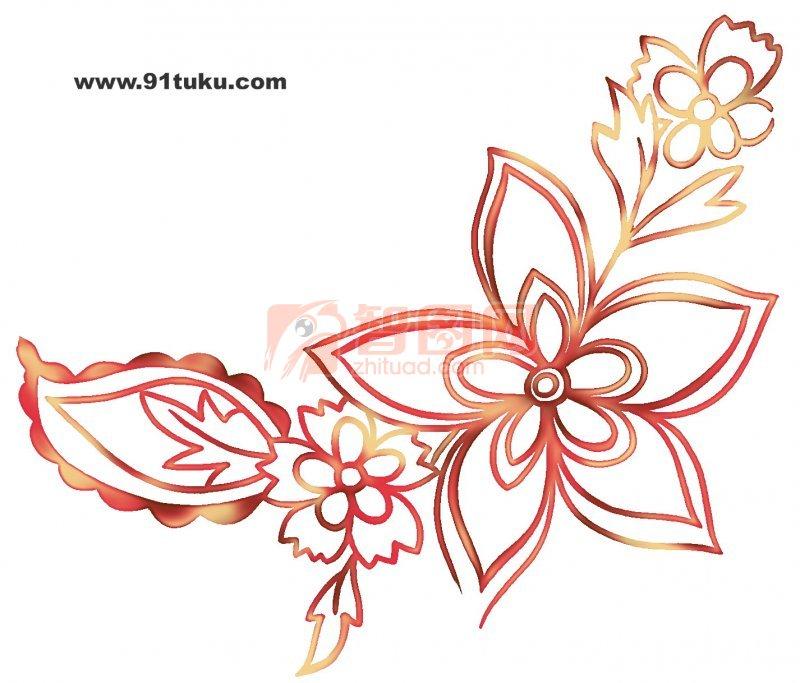 卡通图案,花纹 线条边框   边框 素材 卡通 素材 装饰 素材