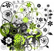 歐式花紋素材