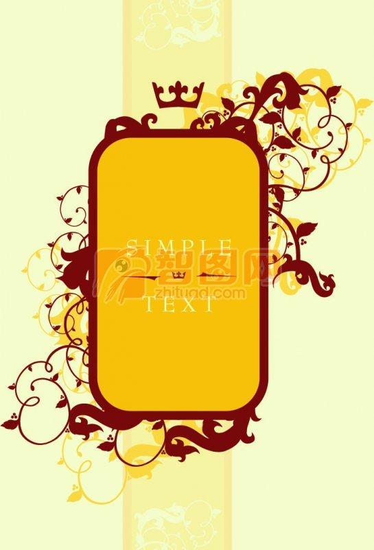 淡黄色背景 黄色边框