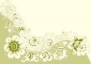 淡雅欧式花纹