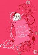 圣诞节花纹图