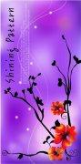 时尚花纹元素海报