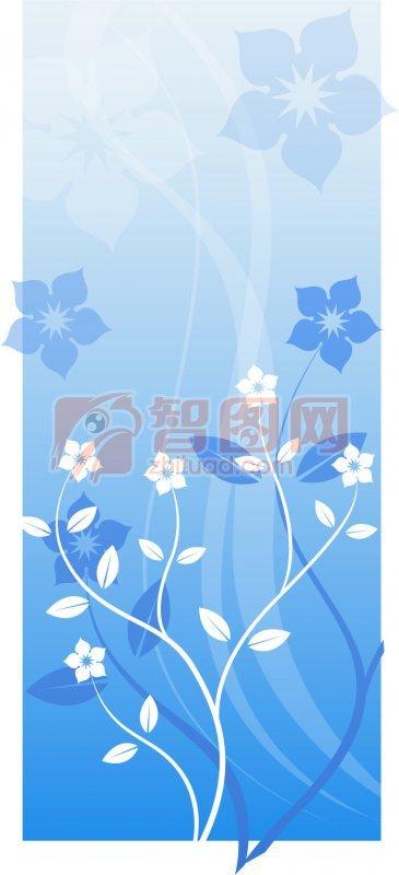 【ai】时尚花纹海报