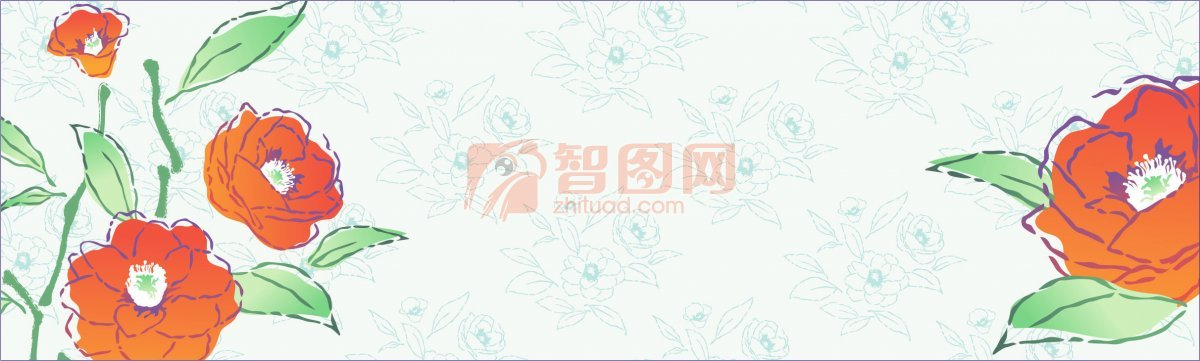 流行花纹元素