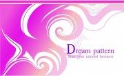 紫色花纹图案