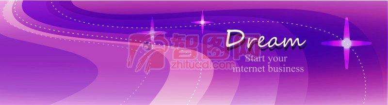 紫色背景素材