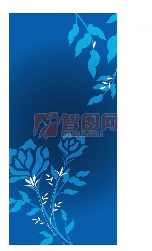 首页 矢量专区 底纹边框 花纹花边  关键词: 淡蓝色小花 蓝色叶子