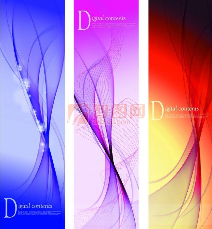 关键词: 紫色带状 红色背景 紫色背景 带状元素 亮点 烟雾状素材