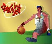 籃球運動員設計