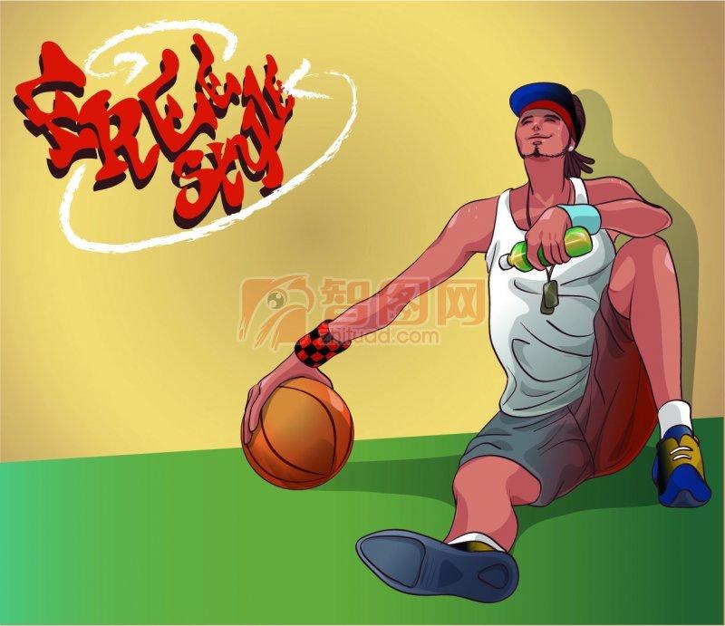 篮球运动员设计