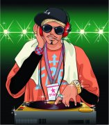 DJ人物設計