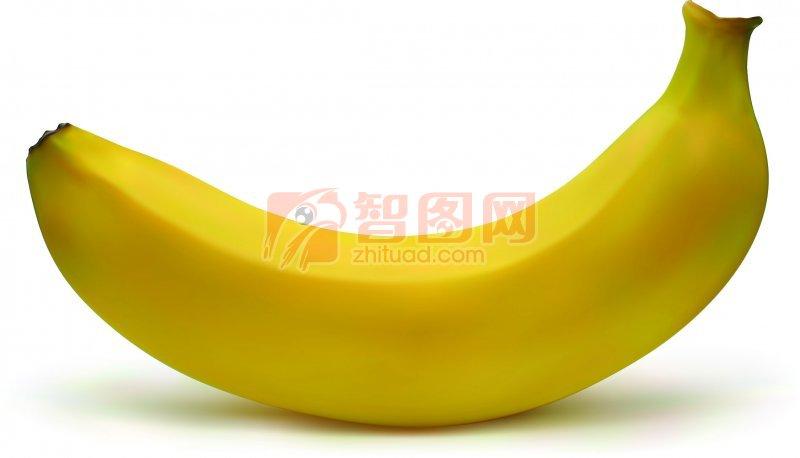 香蕉简笔画色彩
