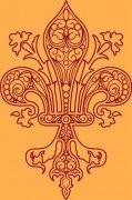歐美花紋設計