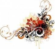 五色花紋設計