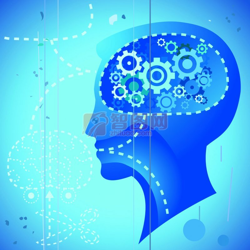 人腦組織花紋設計