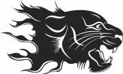 獅子花紋設計