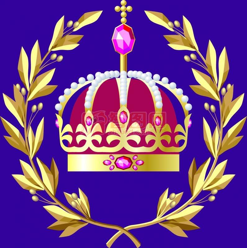 【ai】皇冠花纹设计