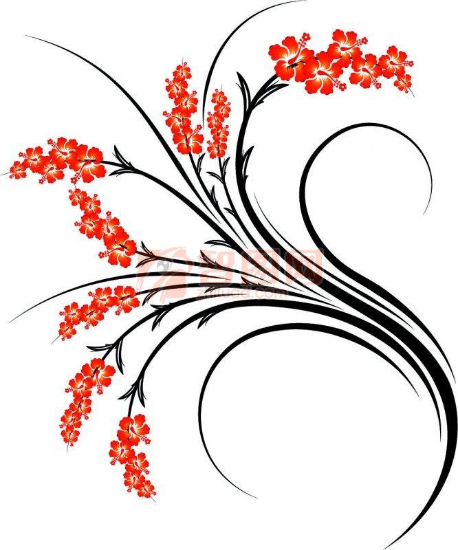 花纹设计素材